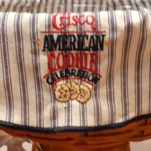 1992 Longaberger Crisco American Cookie Basket